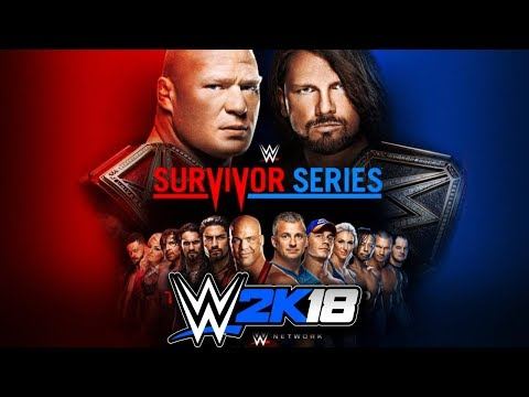Esperando a Survivor Series en Vivo    WWE2K18 DIRECTO