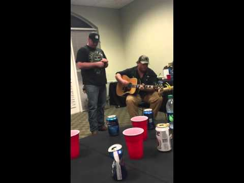 "Luke Combs with Muscadine Bloodline ""Hurricane"" Backstage"