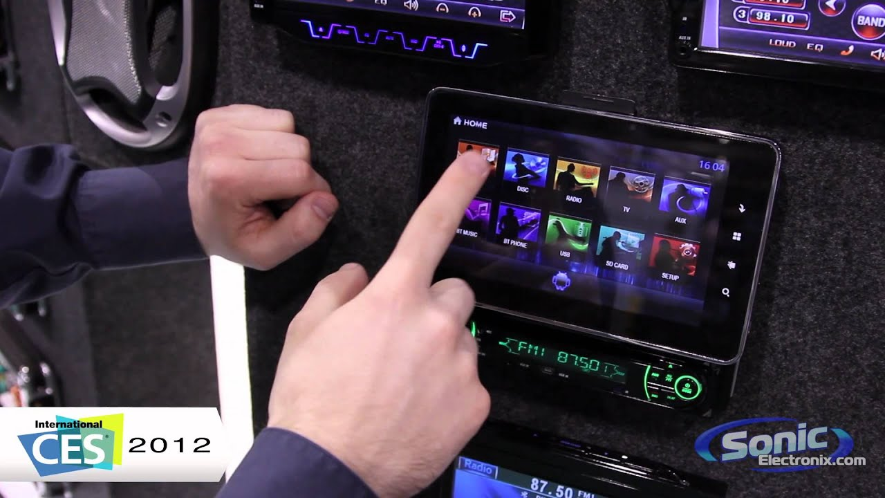 Absolute Avh 1100an Car Stereo W Android Tablet Ces