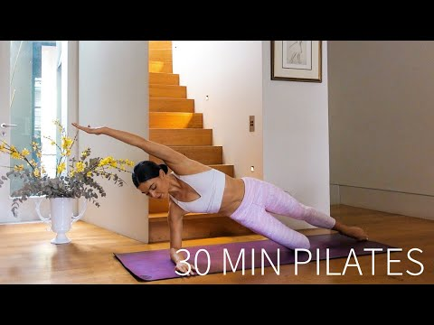 30 MIN PILATES | At-Home Full Body Workout (No Equipment)