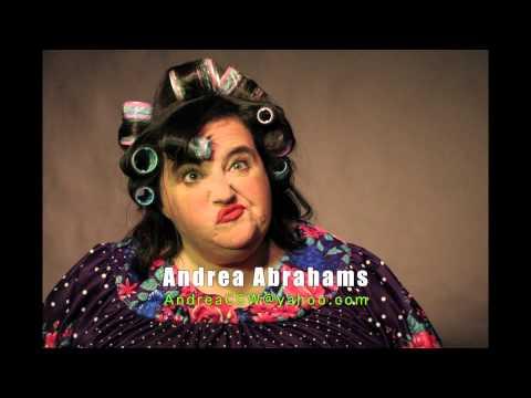 Andrea Abrahams comedian