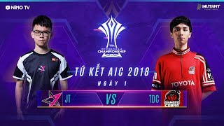 JTEAM vs TOYOTA DIAMOND COBRA - Tứ Kết AIC 2018