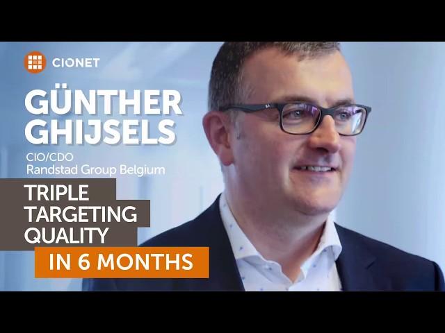 Günther Ghijsels, CIO & CDO of Randstad Belgium – Customer Segmentation Application