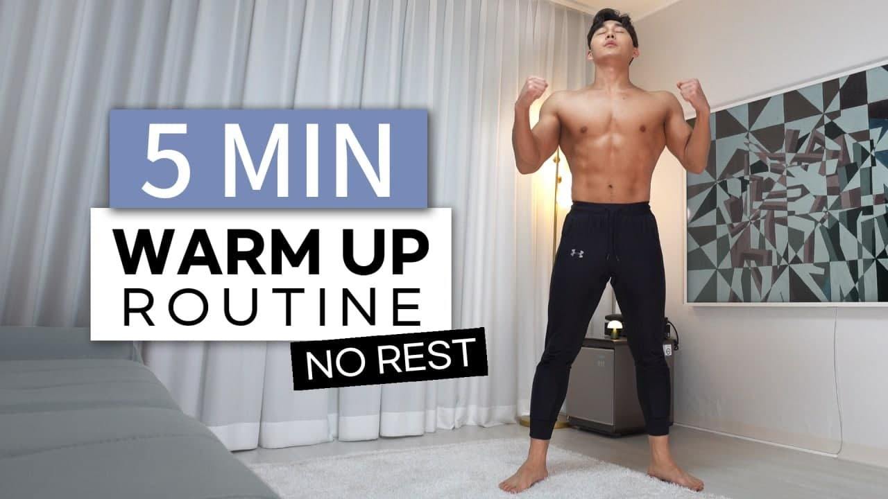 Do This Warm Up Before Every Workout l 5분만에 끝내는 운동 전 필수 워밍업 루틴
