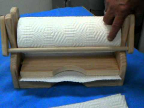 Paper Towel Holder.AVI   YouTube
