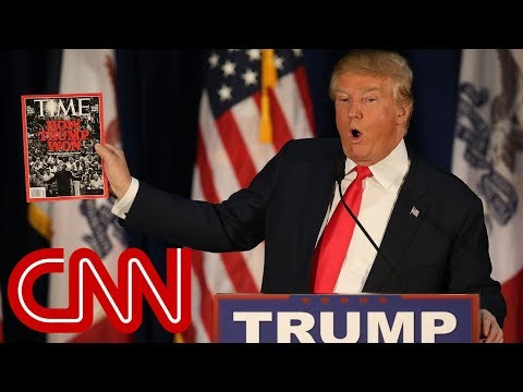 Trump claims he declined Time Magazine