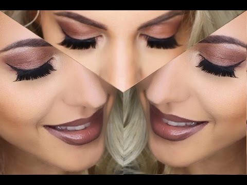 Party makeup tutorial i sarah nowak youtube - Elegantes make up anleitung ...