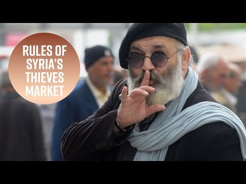 No outsiders: Follow a local into Syria's thieves market
