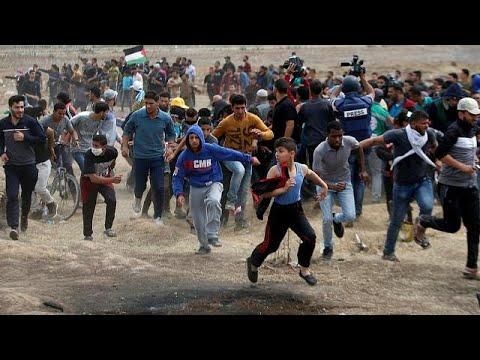 مقتل فلسطينيين خلال تجدد المظاهرات على حدود غزة  - نشر قبل 1 ساعة