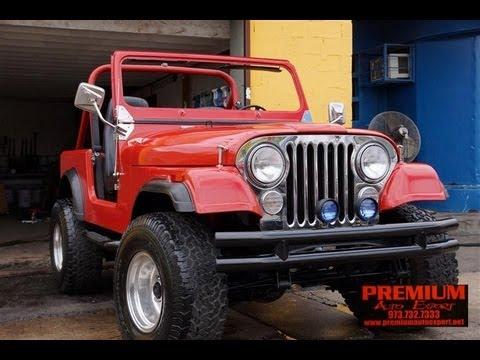 Jeep Renegade 4x4 >> 1986 Jeep AMC CJ7 Renegade 4x4 - YouTube