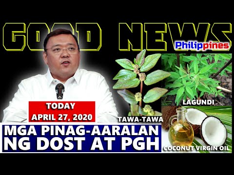 GOOD NEWS TRENDING SPOKESPERSON HARRY ROQUE  | MGA POSIBLENG LUNAS NA PINAGAARALAN NG DOST AT PGH