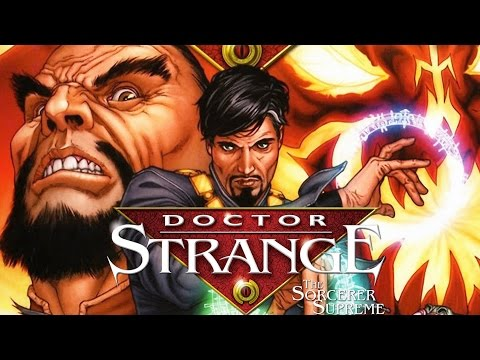 גיבורי על באנימציה - Doctor Strange
