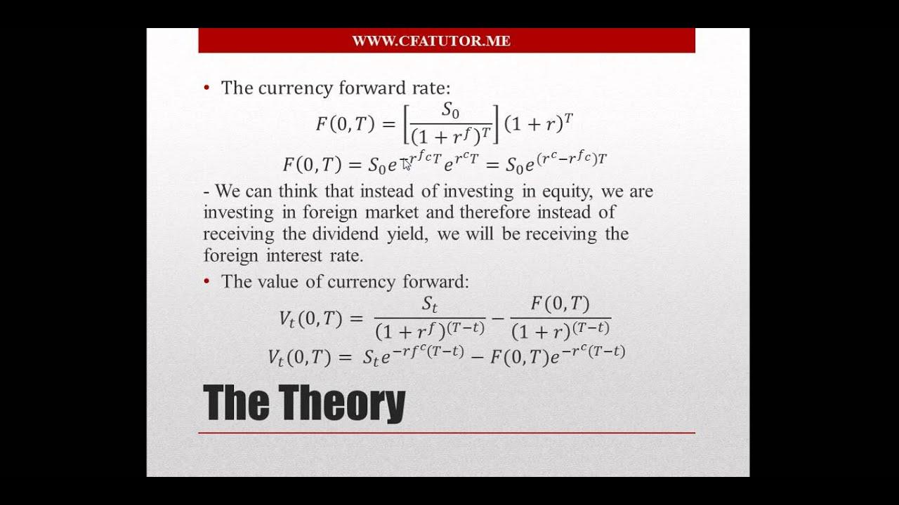Forex swap calculation formula