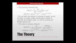 Forward Pricing (Foreign Currency) - CFA Tutor