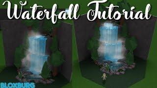 Bloxburg: Waterfall Tutorial!|| ROBLOX