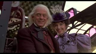 Back to the Future III 1990 - ending scene [1080p - HD]