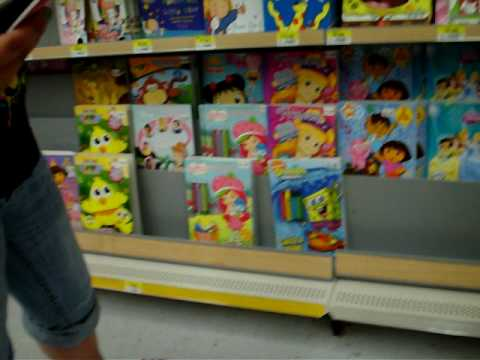 wal mart adventure - Walmart Coloring Books
