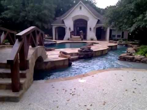 the custom variable speed lazy river pool i built for a customer. beautiful ideas. Home Design Ideas