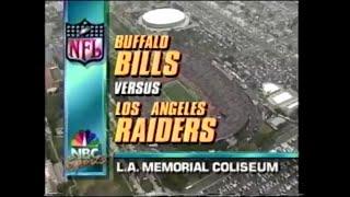 1991-12-08 Buffalo Bills vs Los Angeles Raiders
