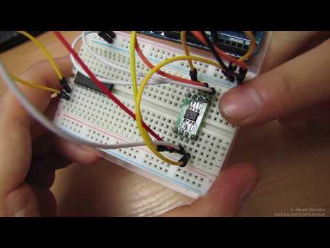 Цифровой потенциометр MCP41010, подключение к Arduino