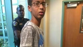 14-year-old Ahmed Mohamed arrested over