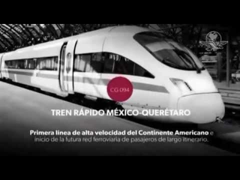 Mira cómo será el súper tren México-Querétaro