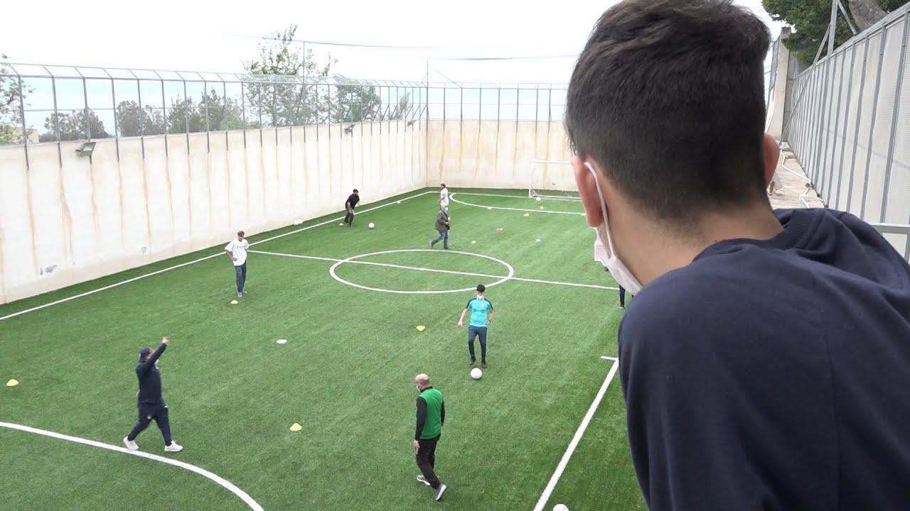 Sicurezza e legalità, inaugurato nel carcere di Nisida campo di calcio a 5