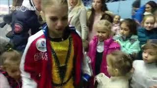 Фигуристка Александра Трусова в Казани: как ее встречали на льду
