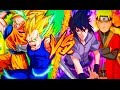 Download Goku & Vegeta Vs. Naruto & Sasuke || Combates Mortales de Rap || Jay-F, MC Energy, CarRaxX & Saikore MP3 song and Music Video