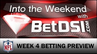 Sharp vs Public Betting NFL Week 4 - Colts, Broncos Big Favorites: Into The Weekend w BetDSI PART 2