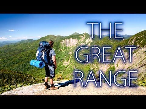Hiking The Great Range-Adirondack Mountains