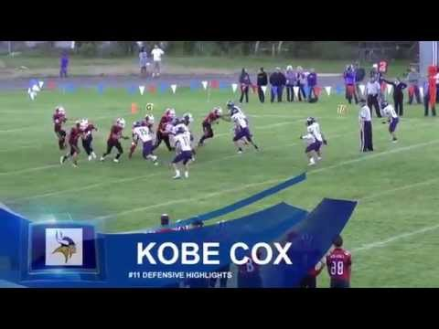 "Kobe Cox - Charlo High School 2014 - 6'1"" 180lbs"