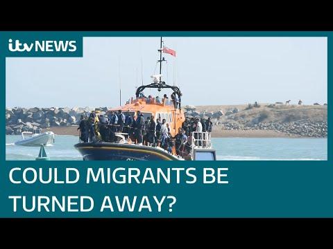 Home Secretary Priti Patel sanctions tactics to turn back migrants boats in Channel   ITV News