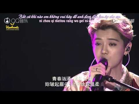 [Vietsub] Luhan - Your Song (acoustic Ver. Live) @ 2016 QQ Music Awards