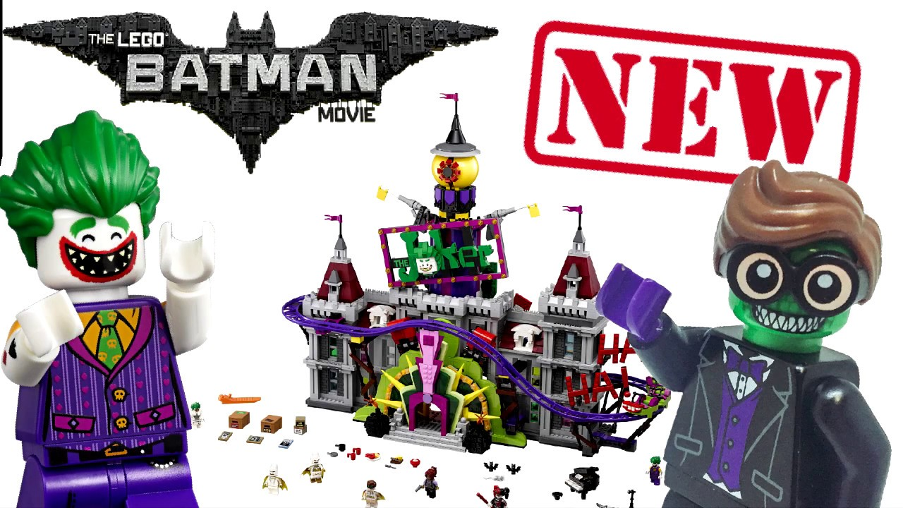 744a13125d3b Lego Batman Movie Joker Manor  70922  Revealed - YouTube