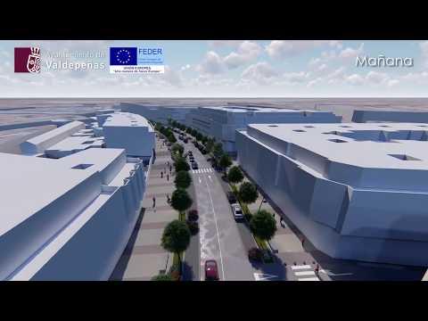 Simulación del proyecto de cubrición del Canal de la Veguilla