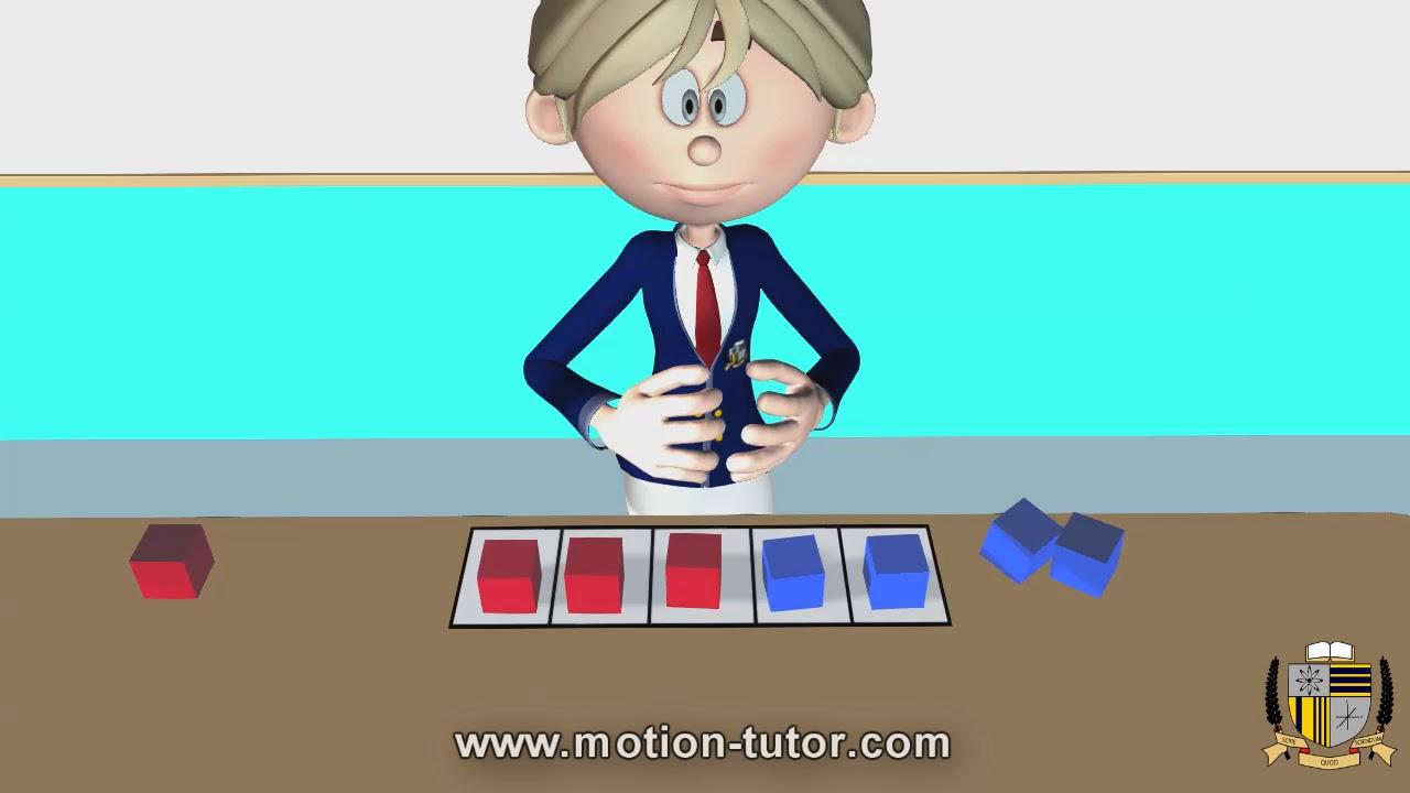Kindergarten Math - Making 5 using counters - YouTube