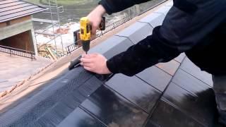 Zakładanie/ montaż gąsiorów dachowych