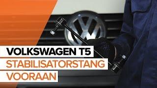 Stabilisatorkoppelstang achter links installeren VW TRANSPORTER: videohandleidingen