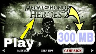 (300mb)How to play Medal of Honor Heroes 2 on Android