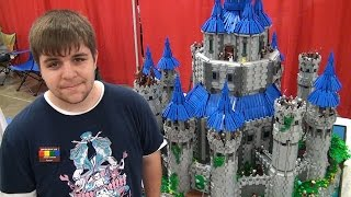 Giant LEGO Legend of Zelda Hyrule Castle - Twilight Princess – BrickFair Virginia 2015