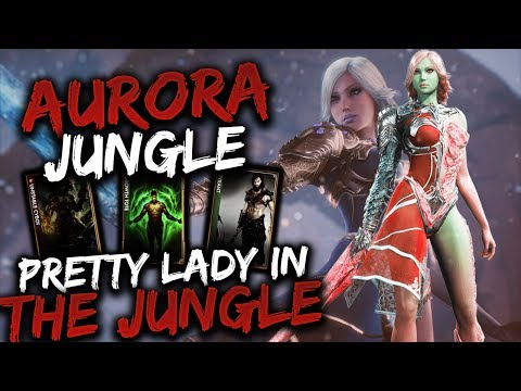 Paragon Aurora Gameplay - PRETTY LADY IN THE DARK JUNGLE!