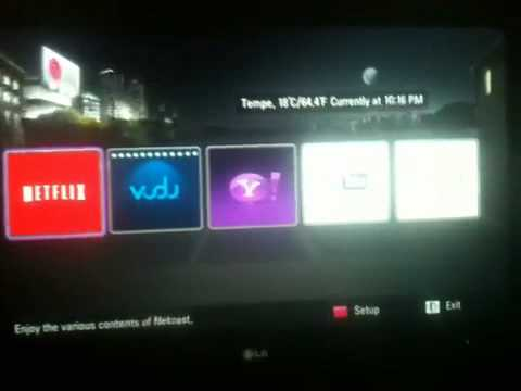 lg 32le5400 32-inch 1080p 120hz led tv with internet and wifi