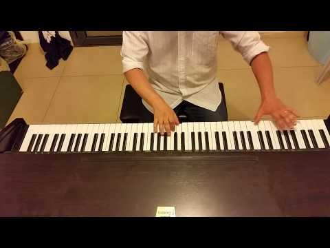 Валерий Леонтьев Светофор зелёный (Все бегут, бегут, бегут, бегут) - пианино  кавер