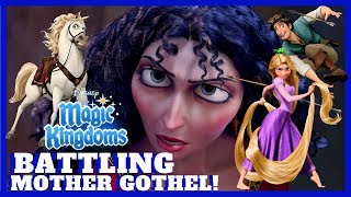 BATTLING MOTHER GOTHEL! Disney Magic Kingdoms Gameplay Walkthrough