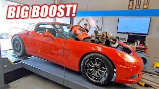 The Auction Corvette Goes For BIG POWER! Please Don't Blow Up...