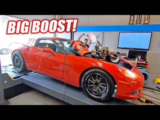 The Auction Corvette Goes For BIG POWER! Please Don't Blow Up...