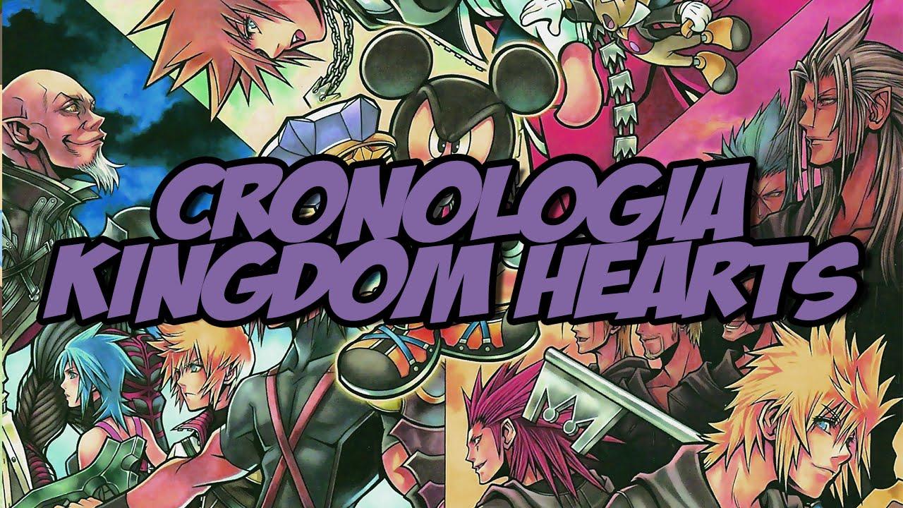 Saga Kingdom Hearts Cronologia Y Orden Para Jugar Youtube