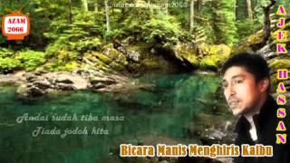BICARA MANIS MENGHIRIS KALBU-Acoustic Cover by Ajek Hassan