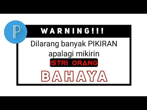 Cara Bikin Kata Kata Konyol Menggunakan Pixellab Youtube